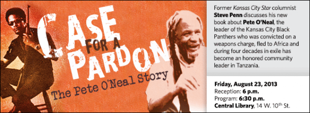 Former Kansas City Star columnist Steve Penn discusses his new book about Pete O'Neal, the leader of the Kansas City Black Panthers who was convicted on a weapons charge, fled to Africa and during four decades in exile has become an honored community leader in Tanzania.