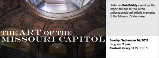Historian Bob Priddy examines the important but all-too-often underappreciated artistic elements of the Missouri Statehouse.