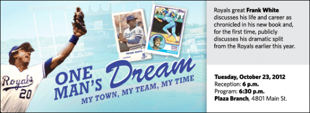 Royals great Frank White discusses his life and career as chronicled in his new book and, for the first time, publicly discusses his dramatic split from the Royals earlier this year.