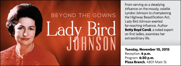 From serving as a steadying influence on the moody, volatile Lyndon Johnson to championing the Highway Beautification Act, Lady Bird Johnson exerted far-reaching influence. Author Betty Boyd Caroli, a noted expert on first ladies, examines her extraordinary life.