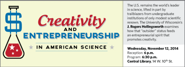 "The U.S. remains the world's leader in science, lifted in part by trailblazers from undergraduate institutions of only modest scientific renown. The University of Wisconsin's J. Rogers Hollingsworth examines how that ""outsider"" status feeds an entrepreneurial spirit that promotes creativity."