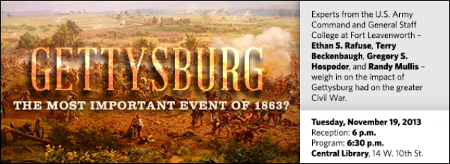 Experts from the U.S. Army Command and General Staff College at Fort Leavenworth – Ethan S. Rafuse, Terry Beckenbaugh, Gregory S. Hospodor, and Randy Mullis – weigh in on the impact Gettysburg had on the greater Civil War.
