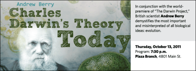 """In conjunction with the world-premiere of """"The Darwin Project,"""" British scientist Andrew Berry demystifies the most important and misinterpreted of all biological ideas: evolution."""