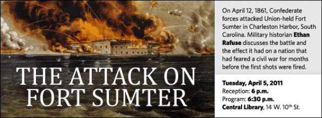 Ethan Rafuse : The Attack on Fort Sumter | Kansas City Public Library
