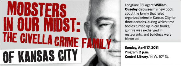 Longtime FBI agent William Ouseley discusses his new book about the family that ruled organized crime in Kansas City for three decades, during which time bodies turned up in car trunks, gunfire was exchanged in restaurants, and buildings were blown up.