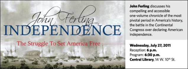 John Ferling discusses his compelling and accessible one-volume chronicle of the most pivotal period in America's history, the battle in the Continental Congress over declaring American independence.