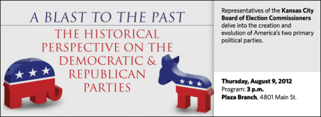 Representatives of the Kansas City Board of Election Commissioners delve into the creation and evolution of America's two primary political parties.