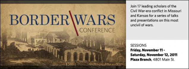 Join 17 leading scholars of the  Civil War-era conflict in Missouri and Kansas for a series of talks  and presentations on this most uncivil of wars.