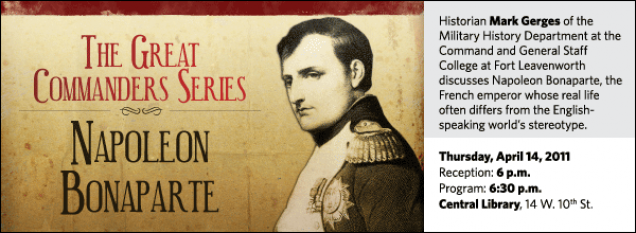 Historian Mark Gerges of the Military History Department at the Command and General Staff College at Fort Leavenworth discusses Napoleon Bonaparte, the French emperor whose real life often differs from the English-speaking world's stereotype.