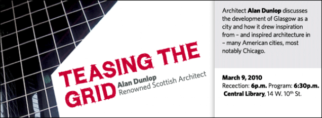 Architect Alan Dunlop discusses the development of Glasgow as a city and how it drew inspiration from – and inspired architecture in – many American cities, most notably Chicago.