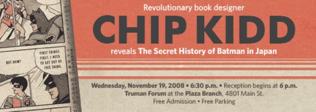 Chip Kidd: The Secret History of Batman in Japan