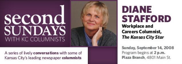 Second Sundays with KC Columnists features Diane Stafford of the Kansas City Star