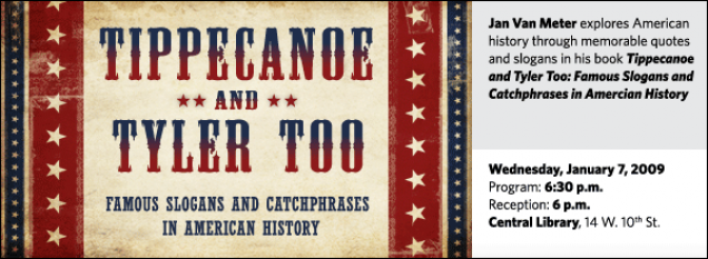 Jan R. Van Meter: Tippecanoe and Tyler Too