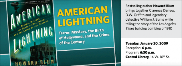 Howard Blum: American Lightning