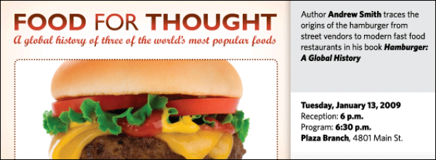 Hamburger: A Global History