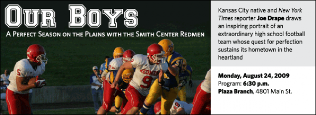 Kansas City native and New York Times reporter Joe Drape draws an inspiring portrait of an extraordinary high school football team whose quest for perfection sustains its hometown in the heartland