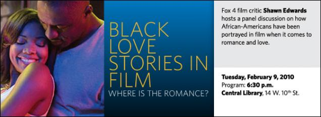 Fox 4 film critic Shawn Edwards hosts a panel discussion on how African-Americans have been portrayed in film when it comes to romance and love.