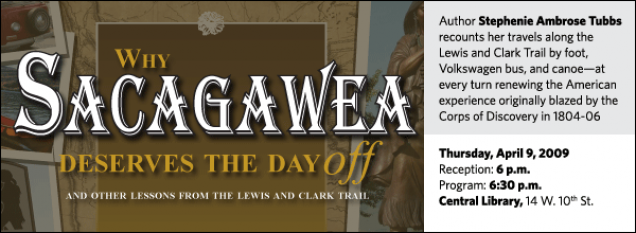 Stephenie Ambrose Tubbs: Why Sacagawea Deserves the Day Off
