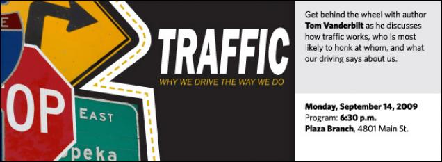 Get behind the wheel with author Tom Vanderbilt as he discusses how traffic works, who is most most likely to honk at whom, and what our driving says about us.