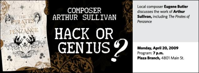Arthur Sullivan the Composer: Hack or Genius?