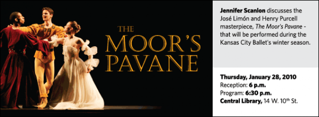 Jennifer Scanlon discusses the José Limón and Henry Purcell masterpiece, The Moor's Pavane - that will be performedduring the Kansas City Ballet's winter season.