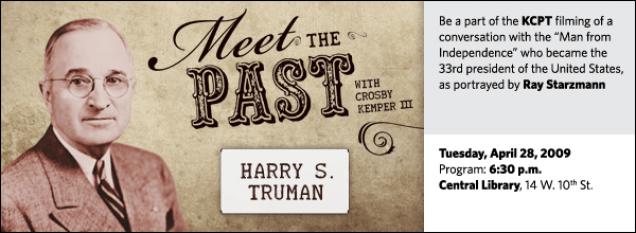Meet the Past: President Harry S. Truman
