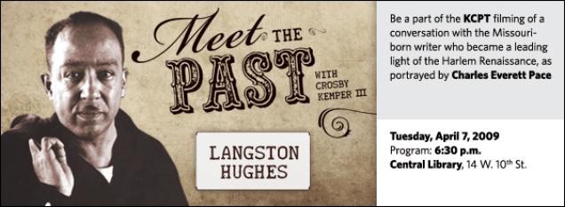 Meet the Past: Langston Hughes