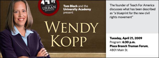 Wendy Kopp: One Day, All Children