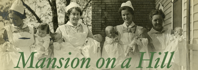 """Author KelLee Parr looks back at The Willows Maternity Sanitarium in Kansas City, one of the facilities that once provided a haven for """"unfortunate"""" unwed pregnant women and adoption services for their newborns, in a discussion of his new book Mansion on a Hill. Parr's grandmother was among the thousands of infants adopted through The Willows during its 64 years of operation, ending in 1969."""