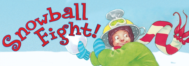 Coterie Theatre artists resume their monthly interactive story times for children and their parents, reading from Tonight Show host Jimmy Fallon's Snowball Fight – about a snowy day, closed schools, and the ultimate snowball skirmish.