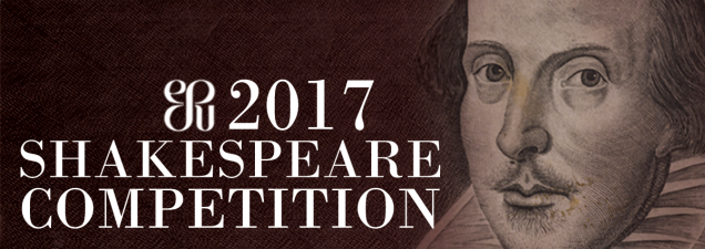 Area high school students present their own interpretations of Shakespeare's works as they compete in this annual event sponsored by the Kansas City Branch of the English-Speaking Union. At stake: a berth in the national competition in New York.