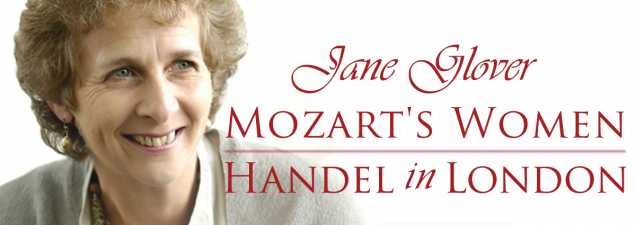 Weeks before she directs a four-night production of Mozart's Cosí Fan Tutte at the Lyric Opera, internationally renowned conductor, scholar, and author Jane Glover discusses her books on two of history's transcendent composers: Mozart's Women: His Family, His Friends, His Music and Handel in London: The Making of a Genius.
