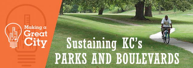 Susan Rademacher, a leader in the nationwide parks conservancy movement for three decades, examines the challenge of keeping Kansas City's signature system of parks and boulevards relevant and sustainable.