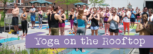 Lauren Leduc, founder and teacher at Kansas City's Karma Tribe Yoga, leads a relaxing, rejuvenating session on the Rooftop Terrace. It's suitable for all skill levels.