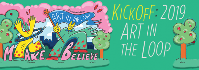 As the 2019 Art in the Loop Project: Make/Believe begins its nearly five-month run in and around downtown Kansas City, meet its lineup of artists and performers and get a peek at their featured works.