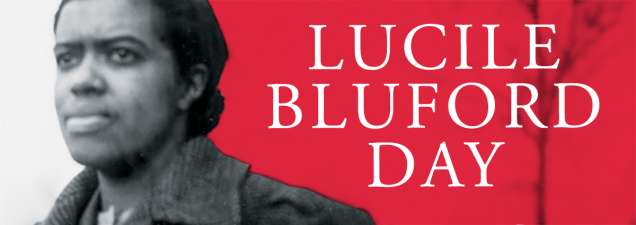 On the first statewide Lucile Bluford Day, the Library celebrates the legacy of the renowned former editor and publisher of The Call at the branch named for her. Missouri Rep. Brandon Ellington is the featured speaker. Special, daylong exhibits highlight Bluford's life and career.