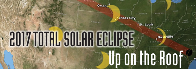 2017 Eclipse Map Kansas.2017 Total Solar Eclipse Up On The Roof Kansas City Public Library