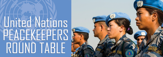 A panel of international military officers, currently studying at the U.S. Army Command and General Staff College at Fort Leavenworth, discusses their U.N. peacekeeping experiences, examining their missions and both their challenges and achievements.