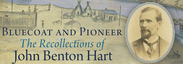 John Hart, the great-grandson of 19th-century Kansas cavalryman, bullwhacker, and frontiersman John Benton Hart, discusses his forebear's vividly told accounts of historical events – collected and published in Bluecoat and Pioneer. The younger Hart is the book's editor.