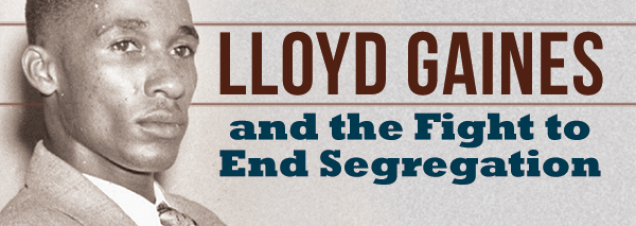 University of Missouri professor James W. Endersby, co-author of a new book about the fight to desegregate MU's law school nearly eight decades ago, discusses the case and its mysterious outcome. After a favorable Supreme Court ruling, plaintiff Lloyd Gaines disappeared.