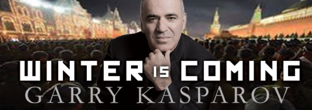 In a discussion of his new book, world chess champion-turned-human rights activist Garry Kasparov discusses what he says is Russian President Vladimir Putin's evolution from local to regional to global threat. His advice: Stand up to the bully..